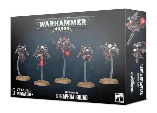 Adepta Sororitas: Seraphim Squad, Warhammer 40,000