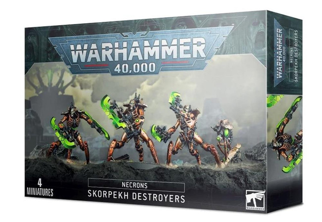 Necrons:  Skorpekh Destroyers, Warhammer 40,000, Games Workshop