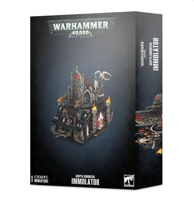 Adepta Sororitas: Immolator, Warhammer 40,000