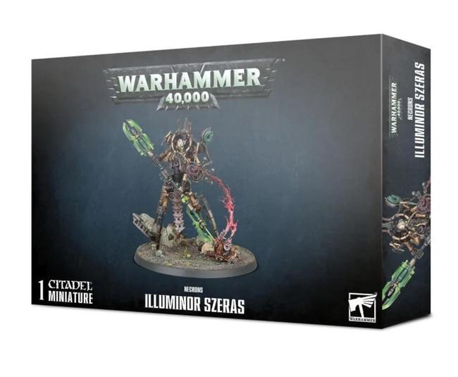 Necrons: Illuminor Szeras, Warhammer 40,000