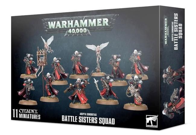Adepta Sororitas: Battle Sisters Squad, Warhammer 40,000
