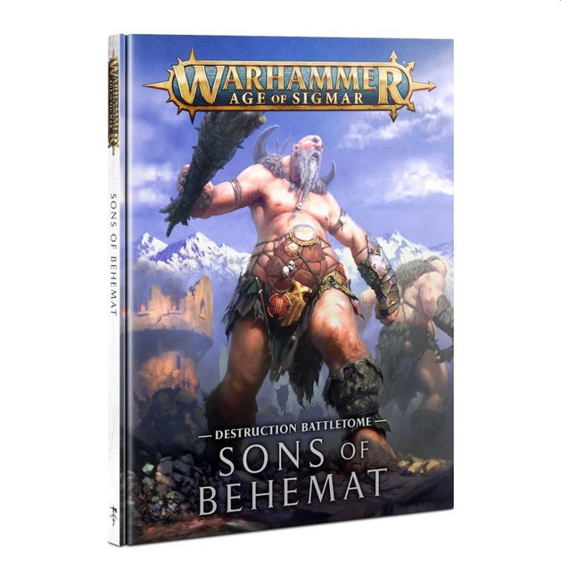 Sons of Behemat: Battletome (Hardback) (English), Warhammer Age of Sigmar