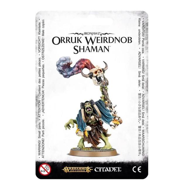 Ironjawz Orruk Weirdnob Shaman, Warhammer 40,000, 40k, Games Workshop