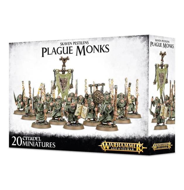 Skaven: Pestilens Plague Monks, Warhammer Age of Sigmar