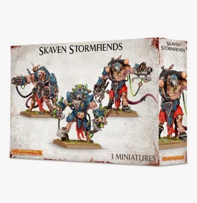 Skaven Stormfiends, Warhammer 40,000, Age of Sigmar
