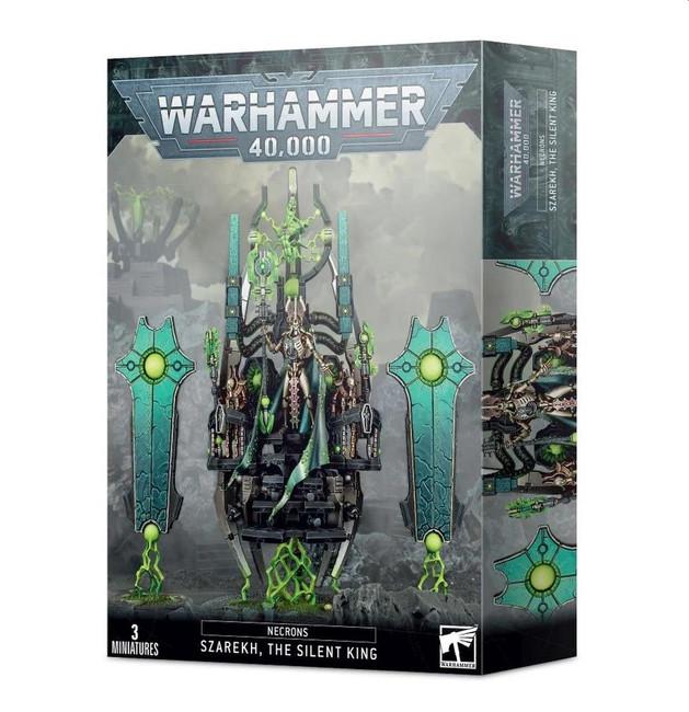 Necrons:  Szarekh, The Silent King, Warhammer 40,000, 40k, Games Workshop