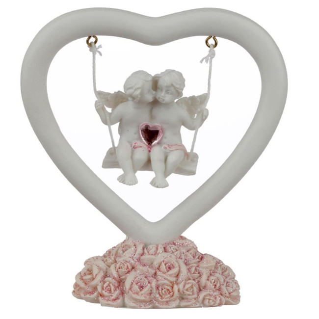 Peace of Heaven Whispers of the Heart Cherub Figurine