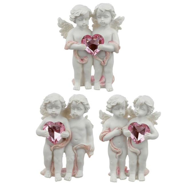 Peace of Heaven Love Everlasting Cherubs Figurine