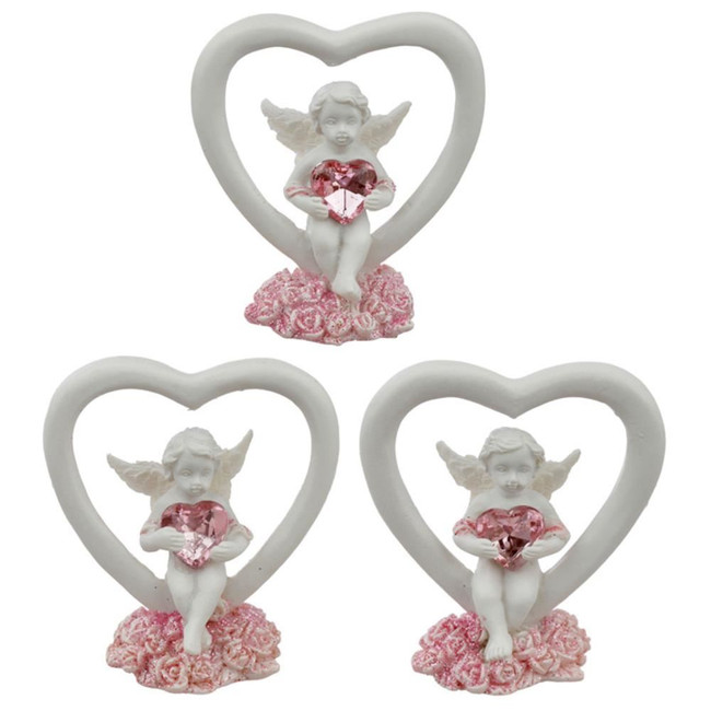 Peace of Heaven Love Conquers All Cherub Figurine