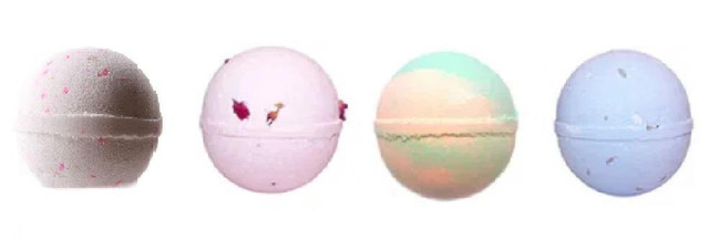 Bath Bomb Mix - Rose, Lavender, Mango and Coconut Dream