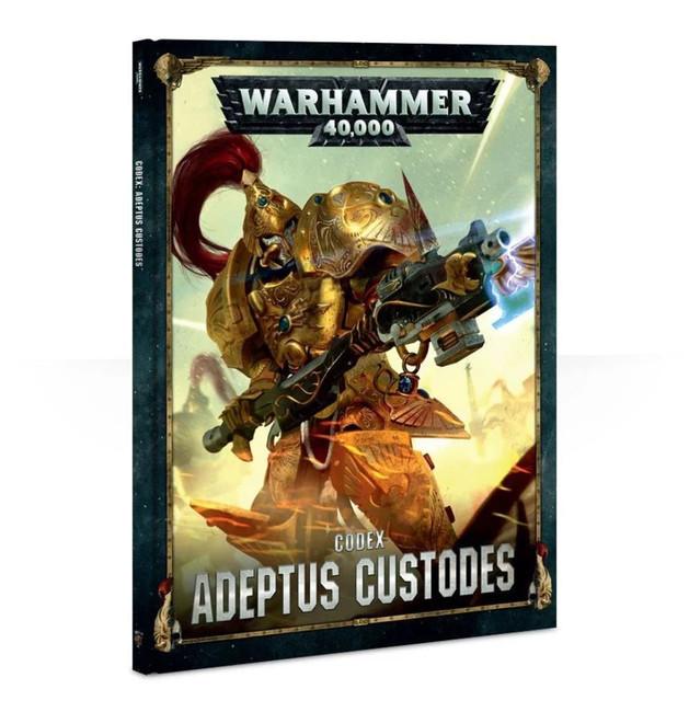 Codex: Adeptus Custodes (Hardback) (English), Warhammer 40,000, 40k