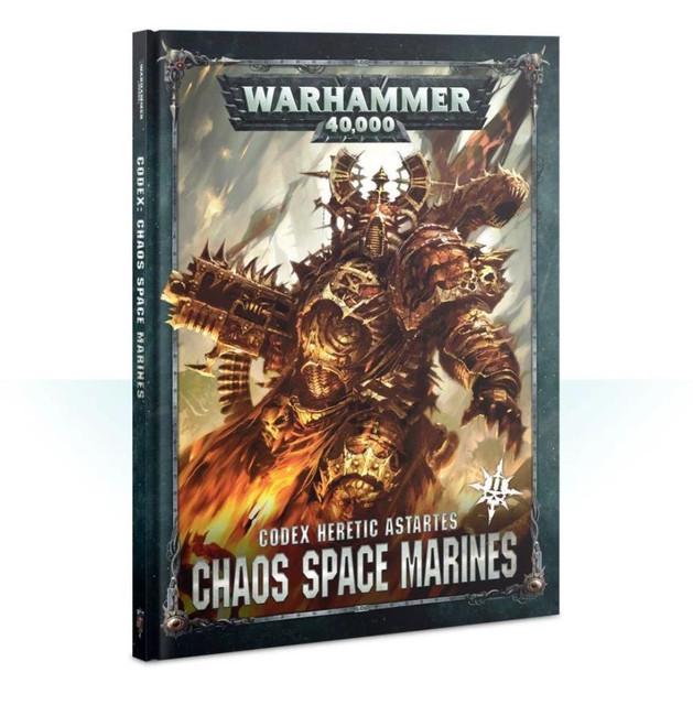 Codex: Chaos Space Marines 2 (English), Warhammer 40,000, 40k