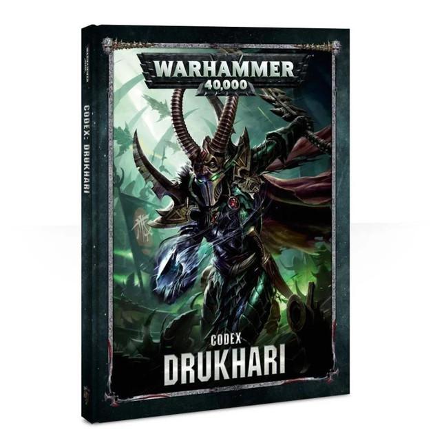Codex: Drukhari (Hardback) (English), Warhammer 40,000, 40k, Games Workshop