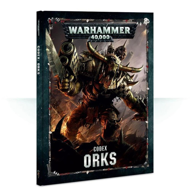 Codex: Orks (Hardback) (English), Warhammer 40,000, 40k, Games Workshop