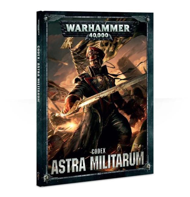 Codex: Astra Militarum (Hardback) (English), Warhammer 40,000, 40k