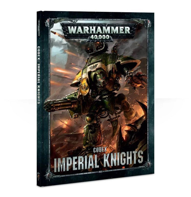 Codex: Imperial Knights (Hardback) (English), Warhammer 40,000, 40k