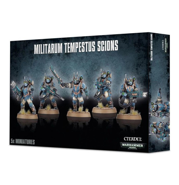 Militarum Tempestus Scions, Warhammer 40,000, 40k, Games Workshop
