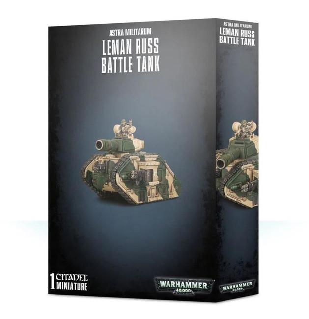 Astra Militarum Leman Russ Battle Tank, Warhammer 40,000, 40k