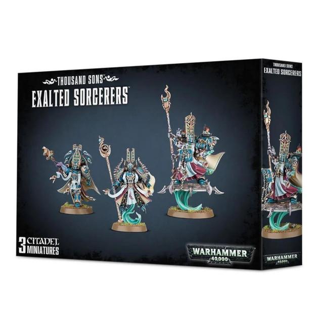 Thousand Sons Exalted Sorcerers, Warhammer 40,000, 40k, Games Workshop