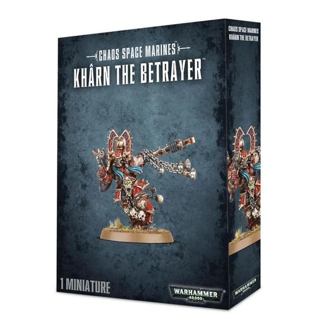 Kharn The Betrayer, Warhammer 40,000, 40k, Games Workshop
