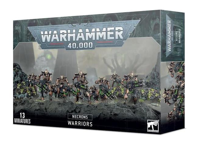 Necron Warriors With Canoptek Scarabs, Warhammer 40,000, 40k, Games Workshop