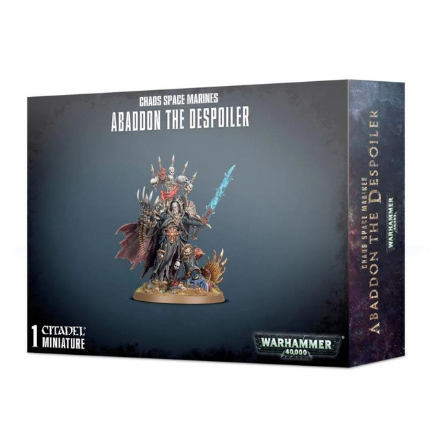 Chaos Space Marinesarines Abaddon The Despoiler, Warhammer 40,000, 40k