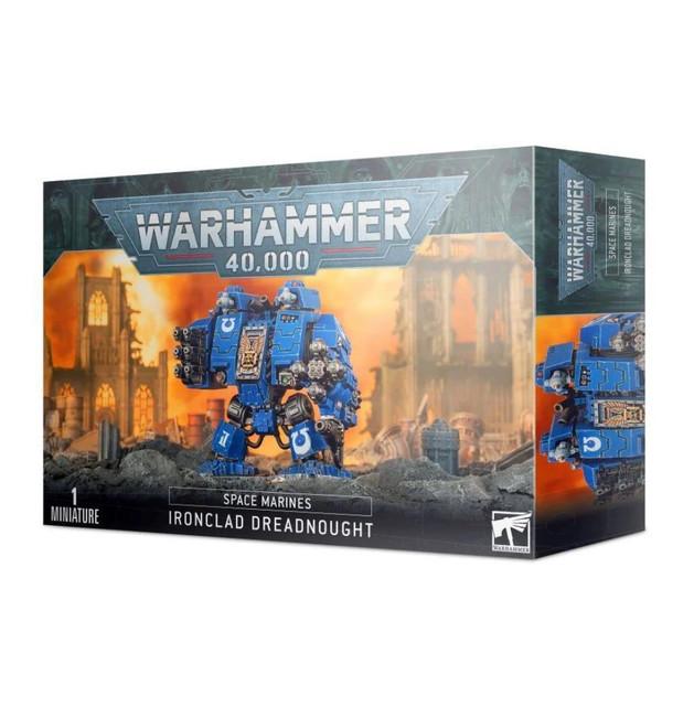 Space Marine Ironclad Dreadnought, Warhammer 40,000, 40k, Games Workshop