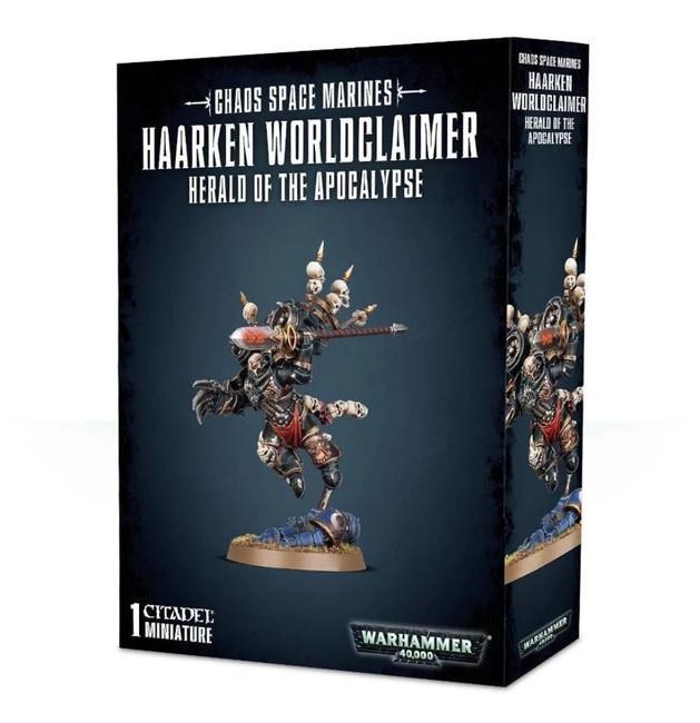 Chaos Space Marines: Haarken Worldclaimer, Warhammer 40,000, Games Workshop
