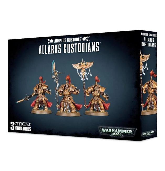 Adeptus Custodes Allarus Custodians, Warhammer 40,000, 40k, Games Workshop