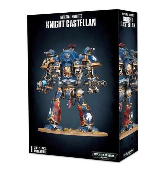 Imperial Knights: Knight Castellan, Warhammer 40,000, 40k, Games Workshop