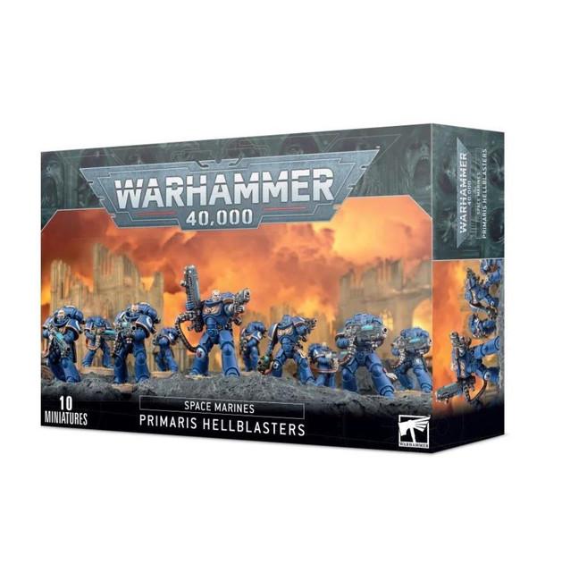 Space Marines Primaris Hellblasters, Warhammer 40,000, 40k, Games Workshop