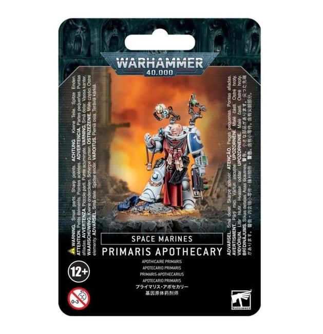 Space Marines Primaris Apothecary, Warhammer 40,000, 40k, Games Workshop