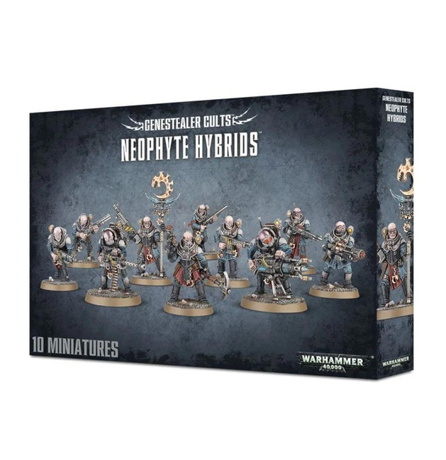 Genestealer Cults Neophyte Hybrids, Warhammer 40,000, 40k, Games Workshop