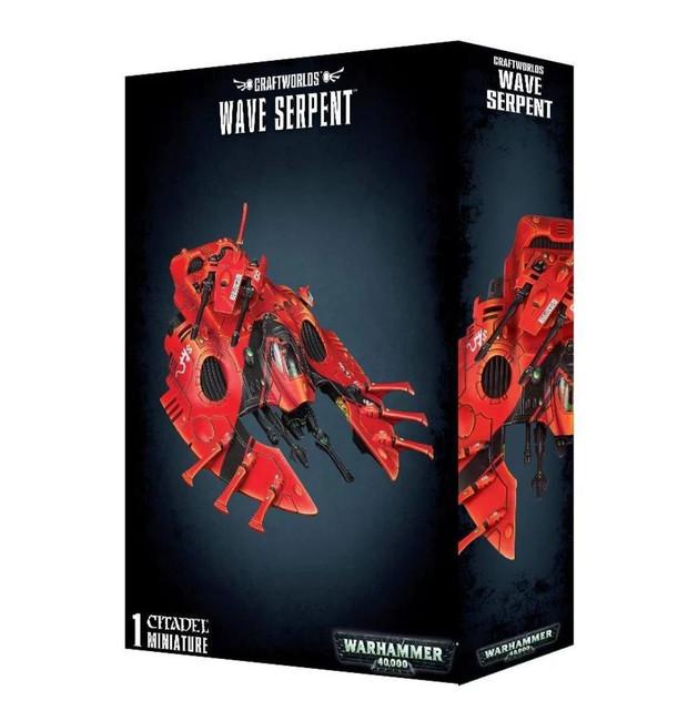 Craftworlds Wave Serpent, Warhammer 40,000, 40k, Games Workshop
