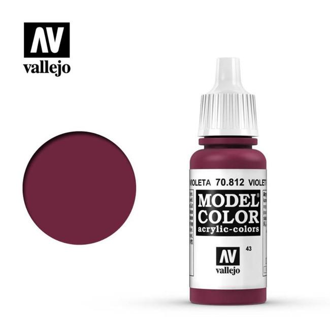 AV Vallejo Model Color 17ml - Violet Red
