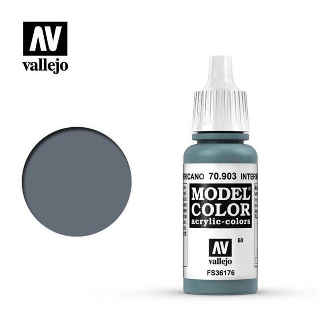 AV Vallejo Model Color 17ml - Intermediate Blue
