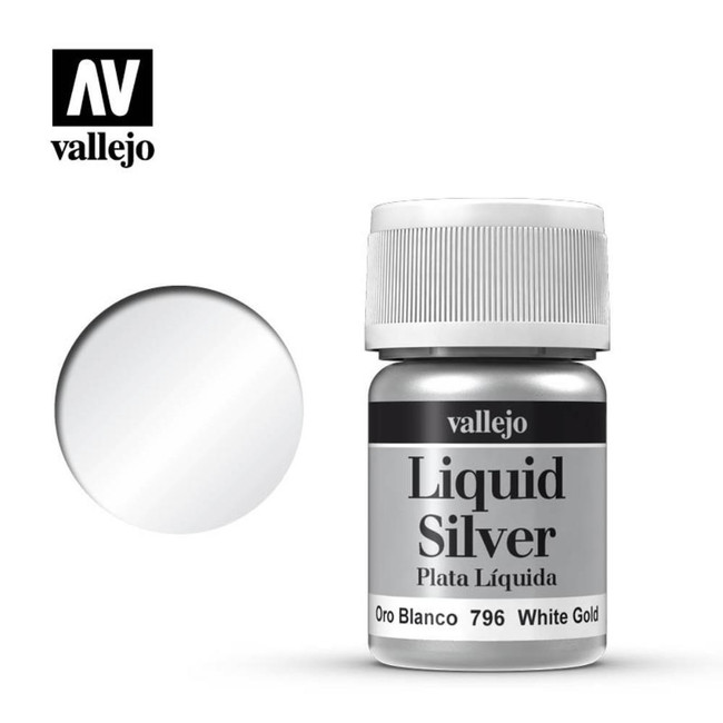 AV Vallejo Model Color 35ml - White Gold (Alcohol Based)