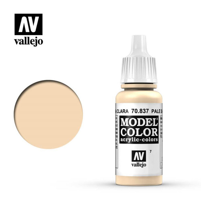 AV Vallejo Model Color 17ml - Pale Sand