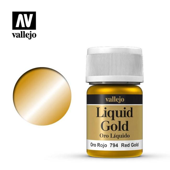 AV Vallejo Model Color 35ml - Red Gold (Alcohol Based)