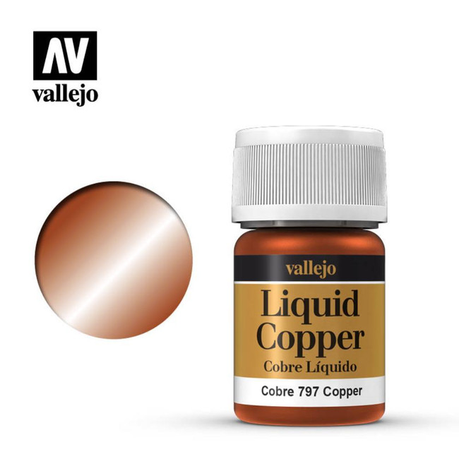 AV Vallejo Model Color 35ml - Copper (Alcohol Based)