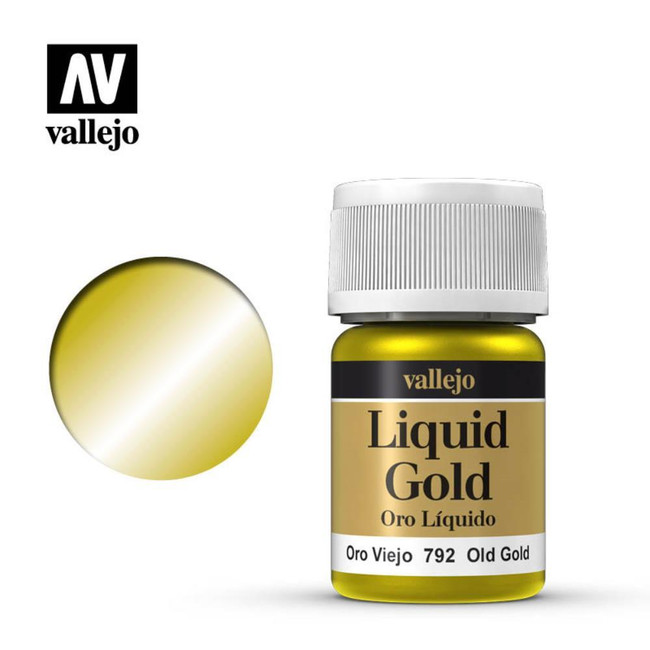 AV Vallejo Model Color 35ml - Old Gold (Alcohol Based)