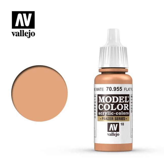 AV Vallejo Model Color 17ml - Flat Flesh