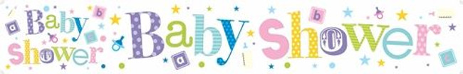 Wall Banner Giant Baby Shower,