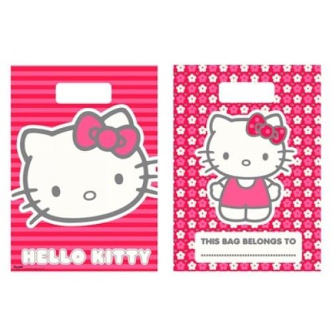 Party Loot Bags 8 Hello Kitty,
