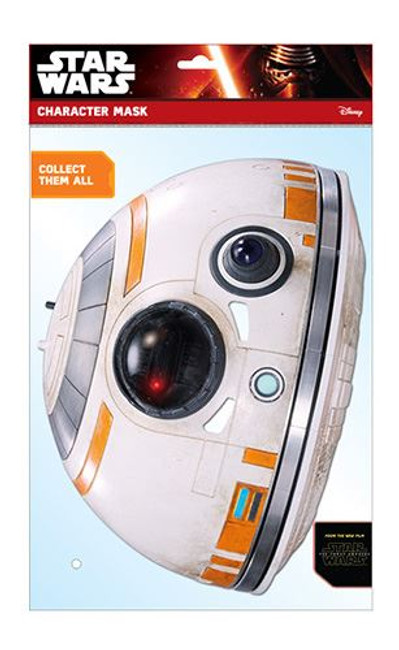 BB-8 Star Wars The Force Awakens Card Card Mask, Celebrity Fancy Dress