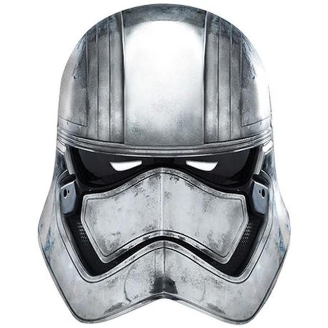 Star Wars Captain Phasma Cardboard Face Mask