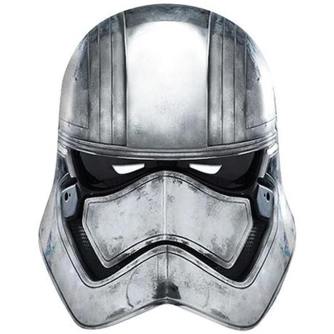 Star Wars Captain Phasma Cardboard Face Mask