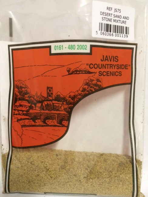 Javis: Desert Sand And Stone Mix, Wargaming/Model Railway Terrain/Scenery