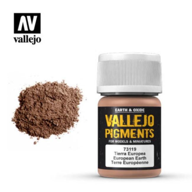 AV Vallejo Pigments - European Earth