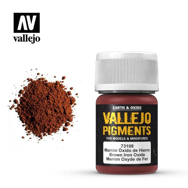 AV Vallejo Pigments - Brown Iron Oxide